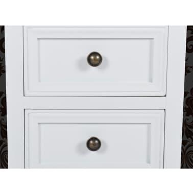 Zestaw dwóch białych szafek nocnych[6/8]
