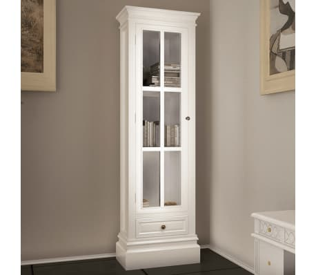 vitrine badschrank schrank wei shabby chic im vidaxl trendshop. Black Bedroom Furniture Sets. Home Design Ideas