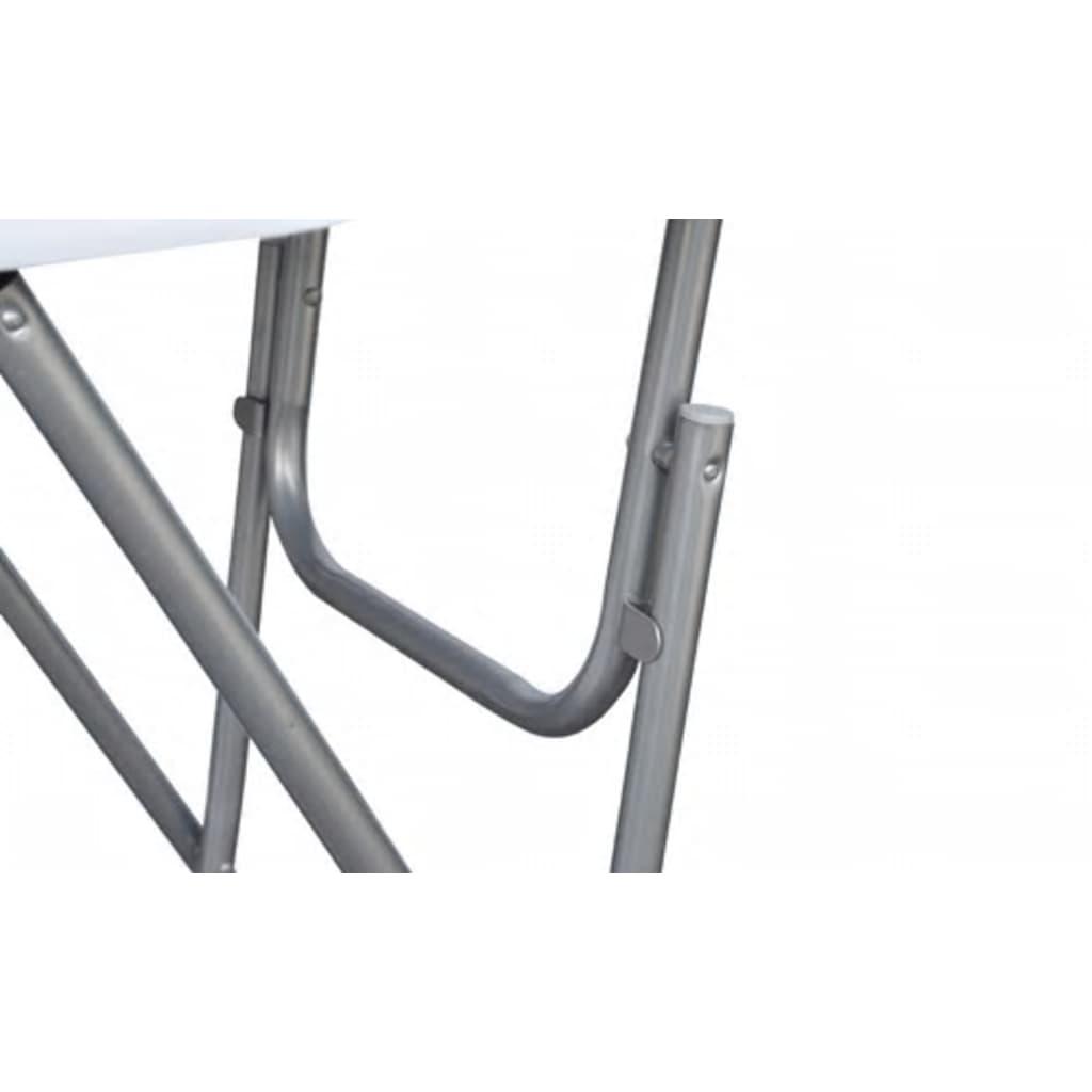 acheter lot de 4 tables de bar ronde haute blanche pliable pas cher. Black Bedroom Furniture Sets. Home Design Ideas