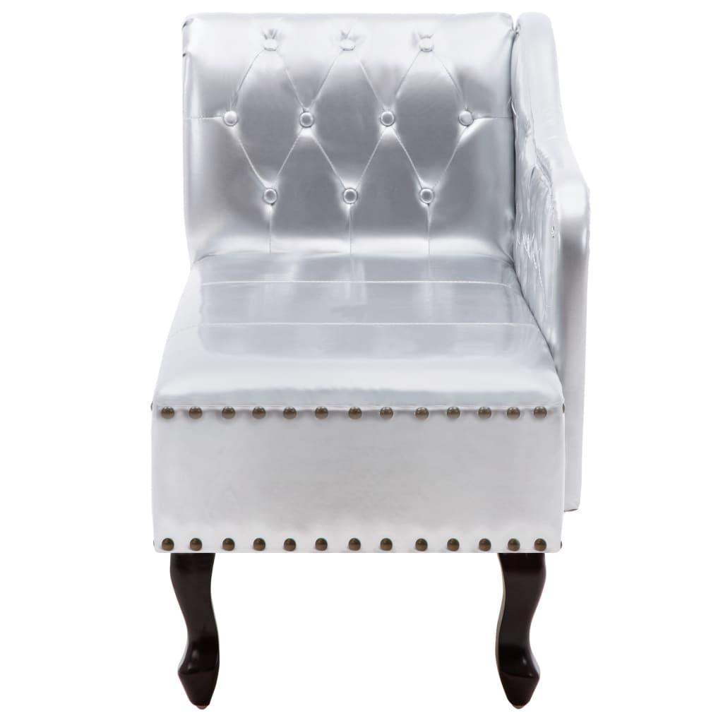 acheter canap m ridienne chesterfield capitonn argent pas cher. Black Bedroom Furniture Sets. Home Design Ideas