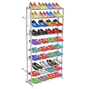 10 Tier Shoe Rack/Shelf[1/3]