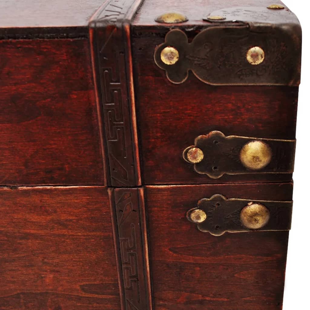 vidaXL-Pirate-Vintage-Large-Wooden-Colonial-Treasure-Chest-Storage-Trunk-Box