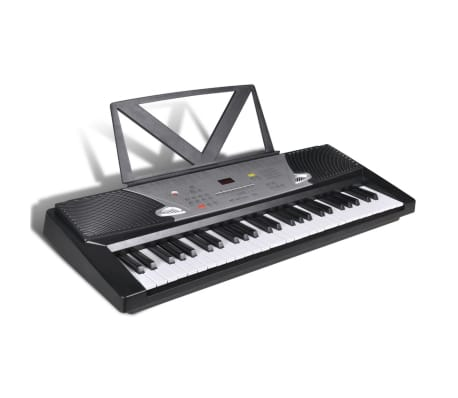 54 Key Electric Keyboard With Book Stand
