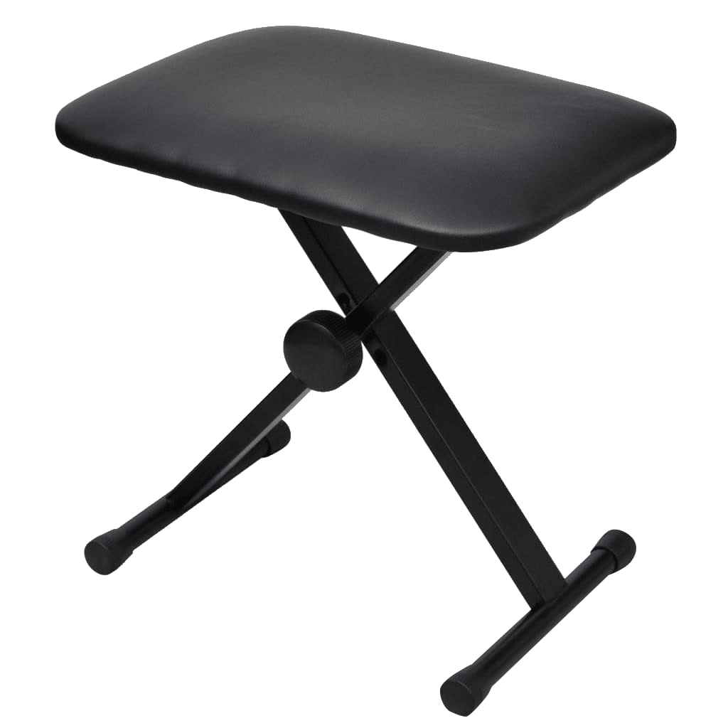 Adjustable Keyboard Amp Piano Stool Foldable Vidaxl Com