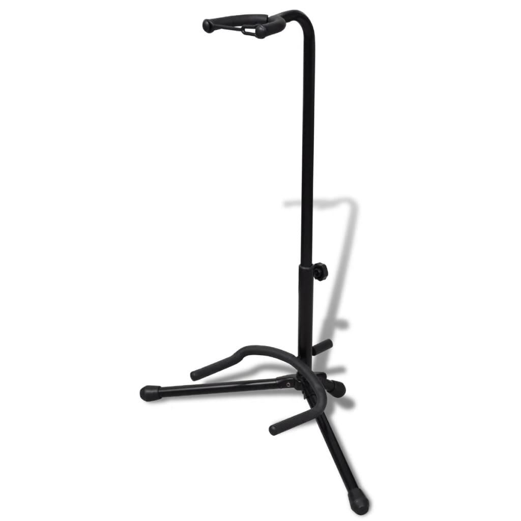vidaXL Állítható összecsukható állvány gitárnak