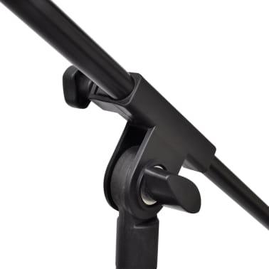 Pied de microphone réglable en hauteur et pliable[3/4]