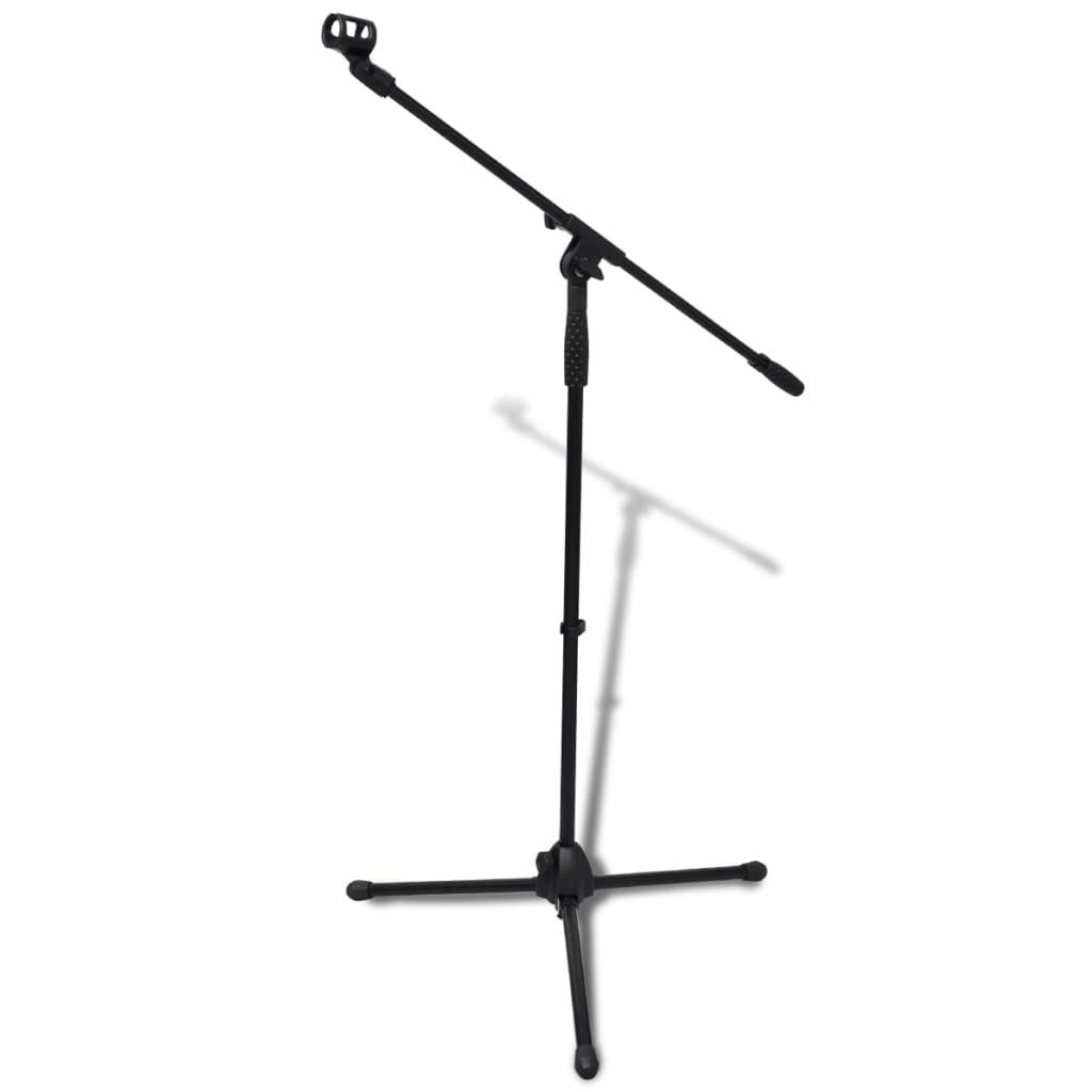 vidaXL Állítható Összecsukható Mikrofon Állvány