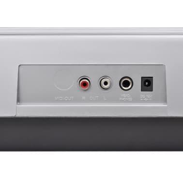 acheter clavier piano electrique avec 61 touches avec. Black Bedroom Furniture Sets. Home Design Ideas
