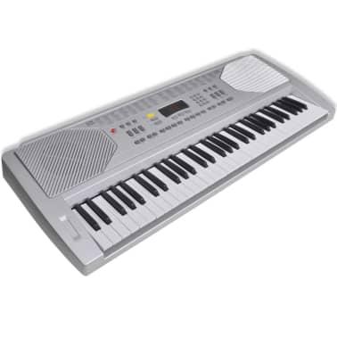 Clavier Piano Electrique avec 61 touches avec stand[1/6]