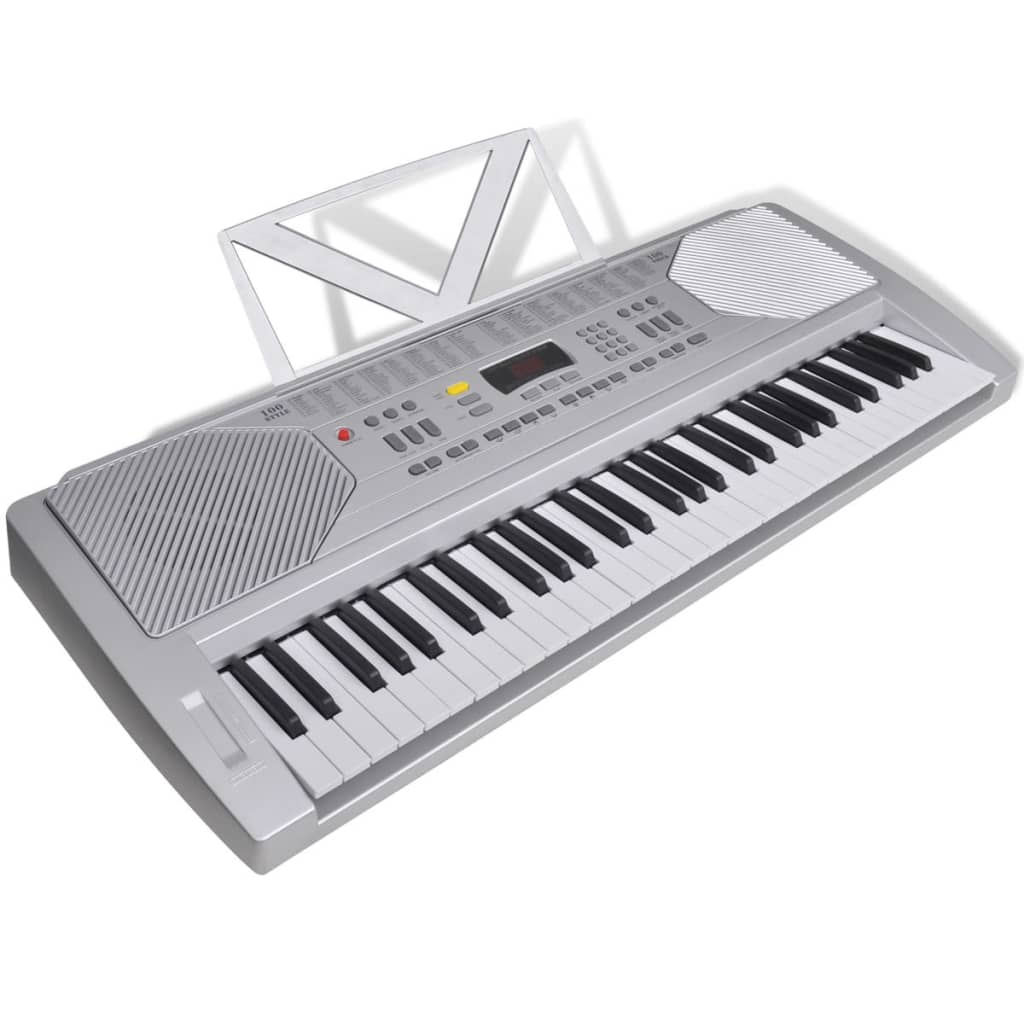 61 Piano Key Electric Keyboard With Music Stand