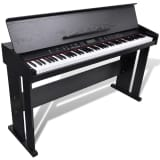 Classic Electronic Digital Piano with 88 Keys & Music Stand