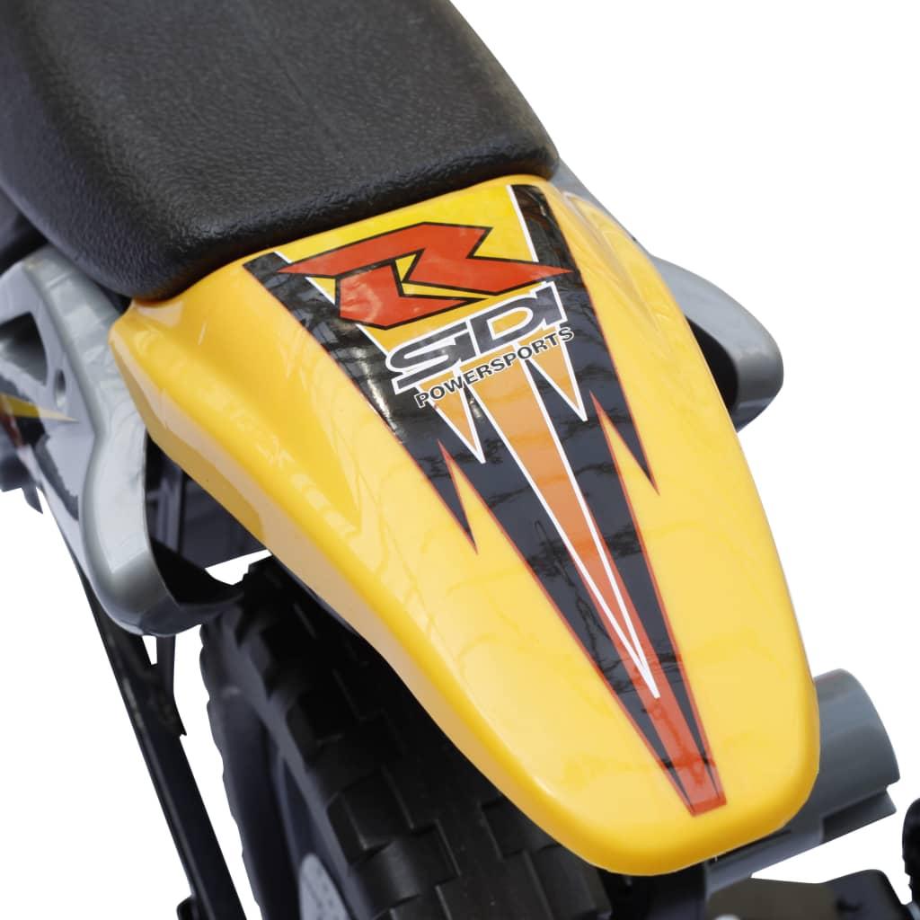 acheter moto lectrique pour enfants jaune pas cher. Black Bedroom Furniture Sets. Home Design Ideas