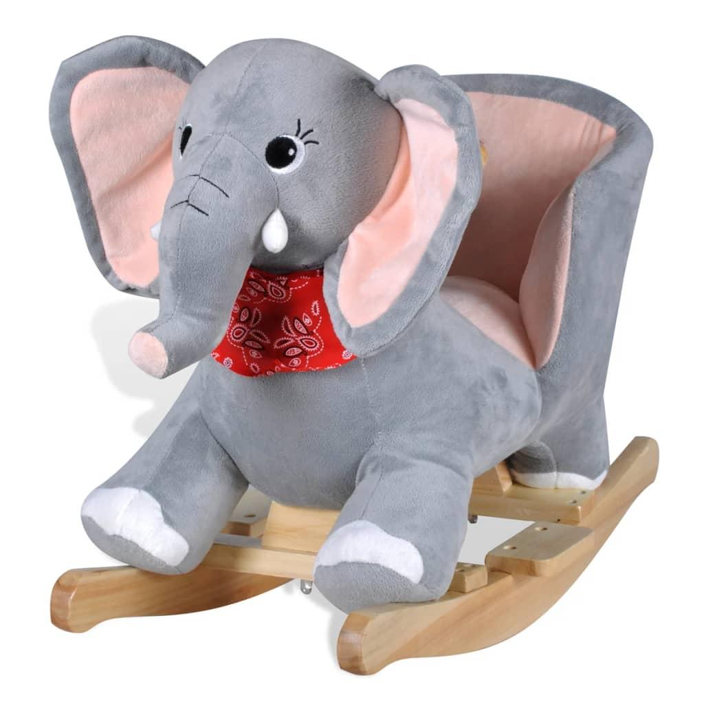 vidaXL Hintaszék állat elefánt