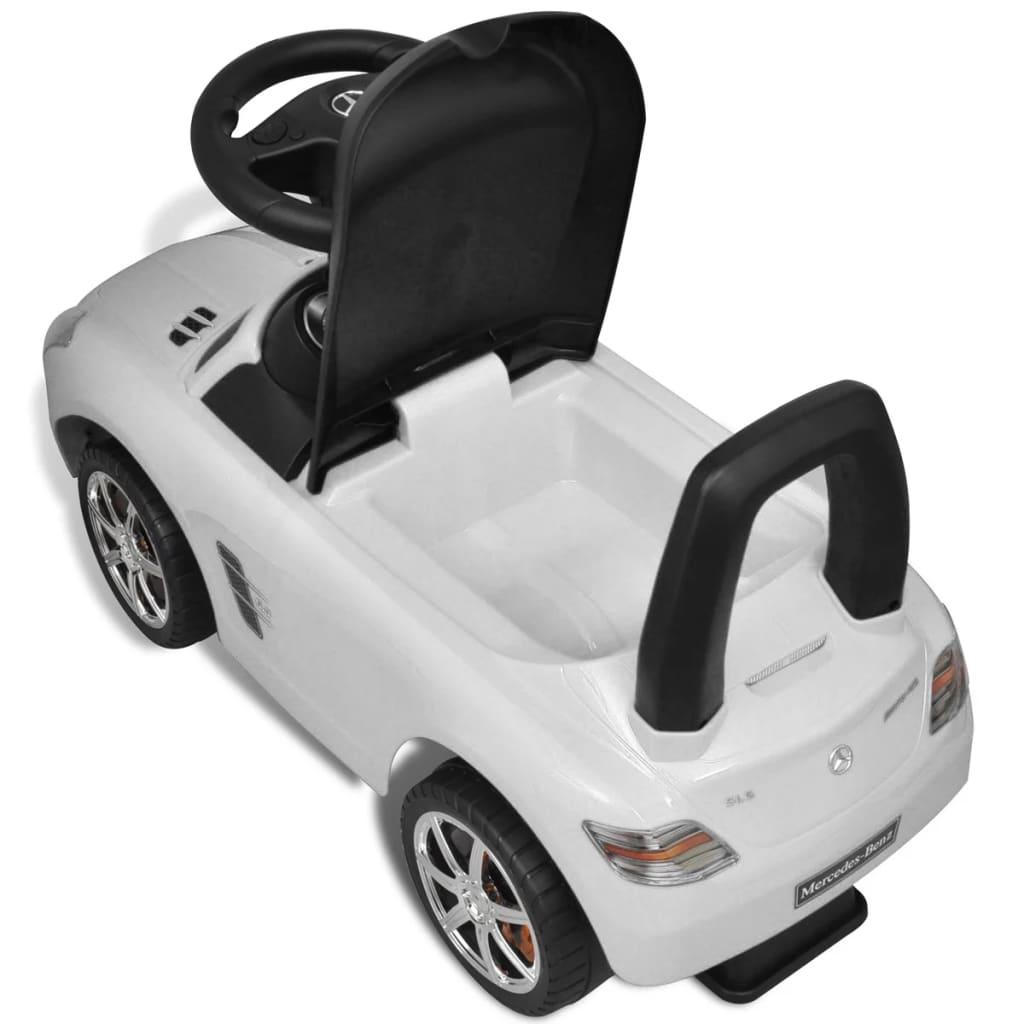 la boutique en ligne mercedes benz pousse pied voiture enfant blanc. Black Bedroom Furniture Sets. Home Design Ideas