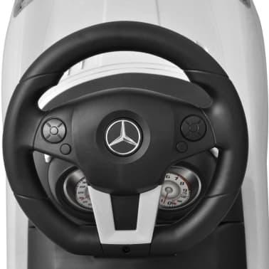 Vit Mercedes Benz trampbil[6/8]