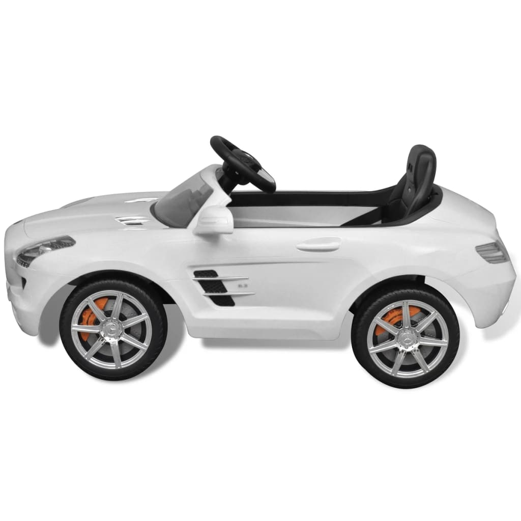 Mercedes benz battery powered kids car with for Mercedes benz kids car
