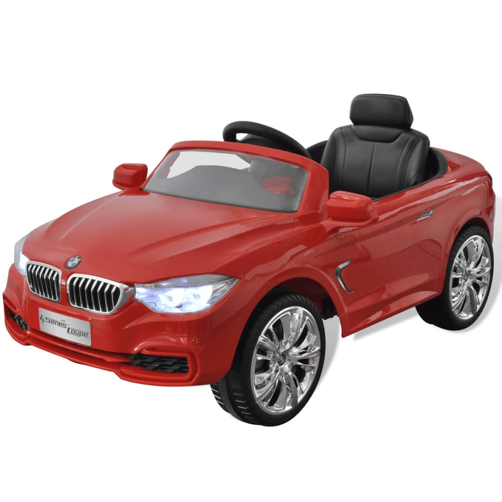 der bmw elektroauto mit fernbedienung kinderfahrzeug rot online shop. Black Bedroom Furniture Sets. Home Design Ideas