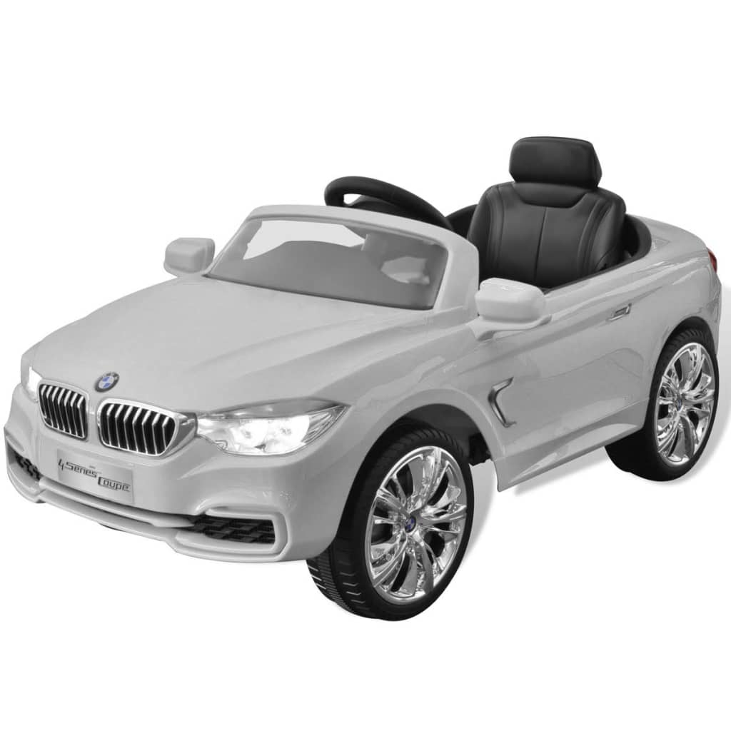 la boutique en ligne bmw voiture enfant batterie avec t l commande blanc. Black Bedroom Furniture Sets. Home Design Ideas
