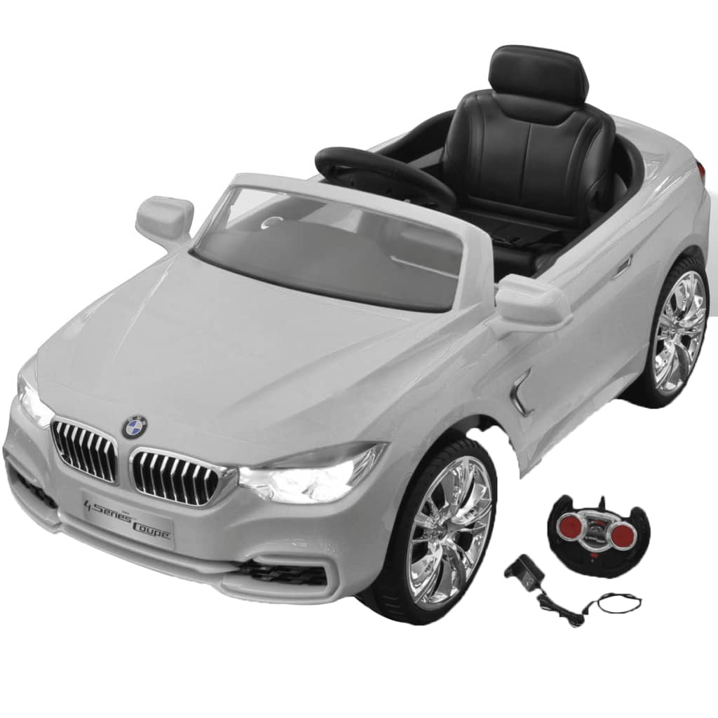 bmw elektroauto mit fernbedienung kinderfahrzeug wei g nstig kaufen. Black Bedroom Furniture Sets. Home Design Ideas