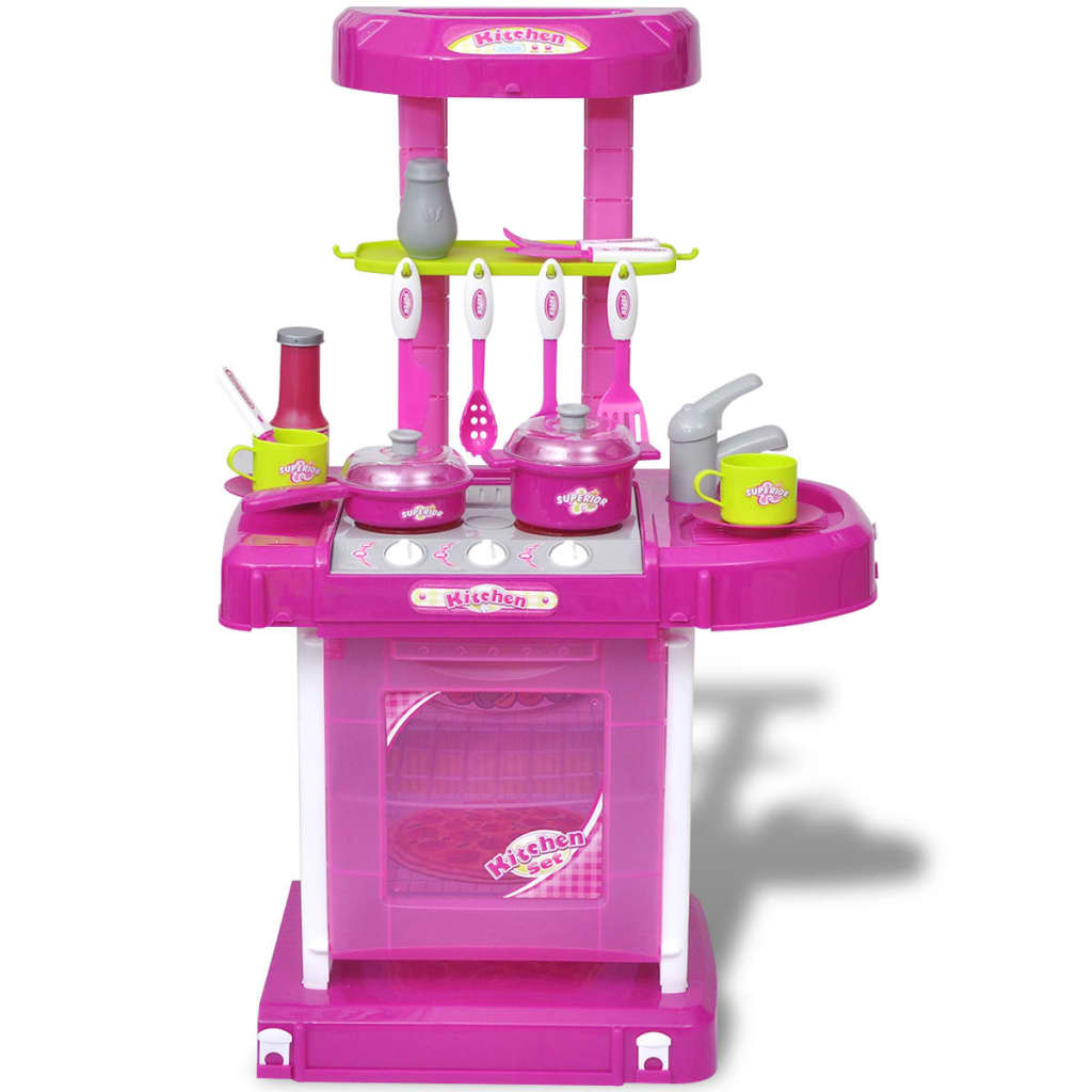 Acheter cuisine jouet pour enfants avec effets lumineux for Jouet dinette cuisine