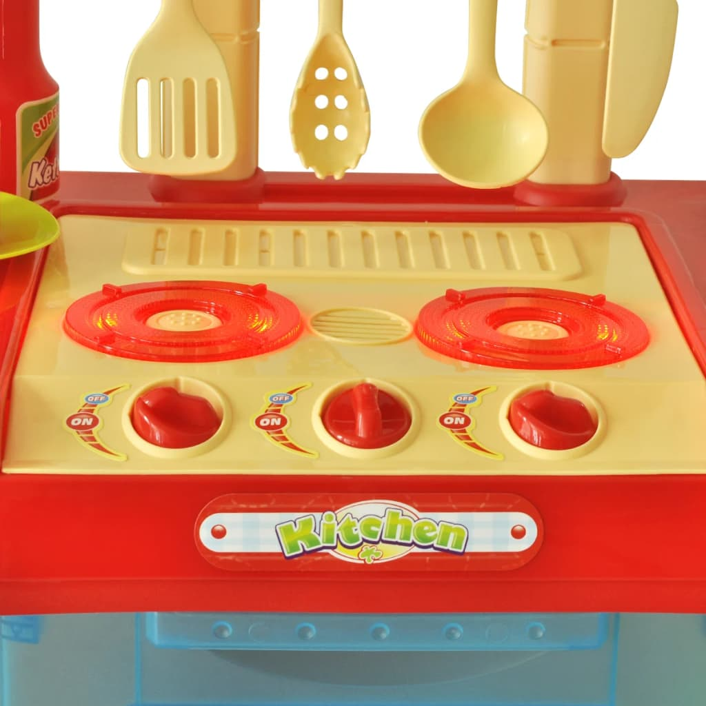 Acheter cuisine jouet pour enfants avec effets lumineux - Cuisine enfant jouet club ...