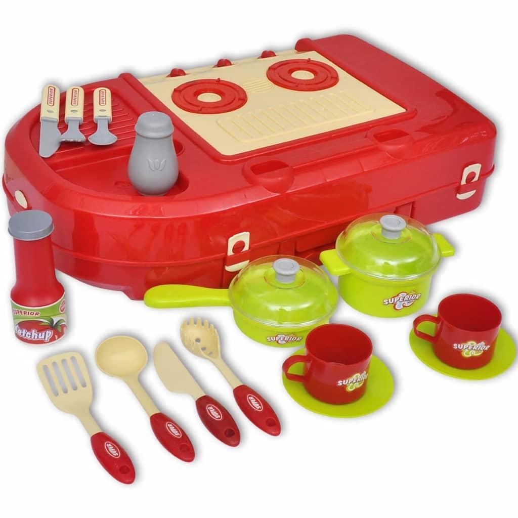 Acheter cuisine jouet pour enfants avec effets lumineux for Cuisine jouet