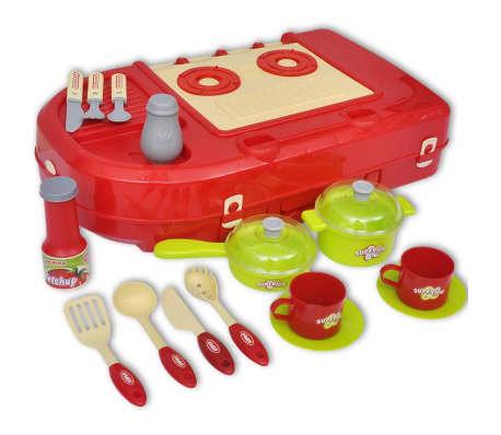 cuisine jouet pour enfants avec effets lumineux sonores. Black Bedroom Furniture Sets. Home Design Ideas