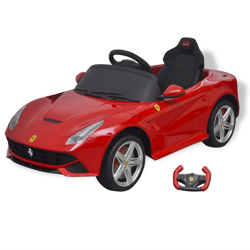 vidaxl kinder elektroauto ferrari f12 rot 6 v mit. Black Bedroom Furniture Sets. Home Design Ideas