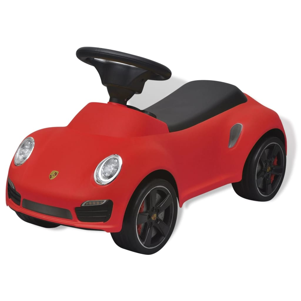 rutschauto porsche 911 lizenz auto kinderfahrzeug bobbycar rutscher rot wei ebay. Black Bedroom Furniture Sets. Home Design Ideas