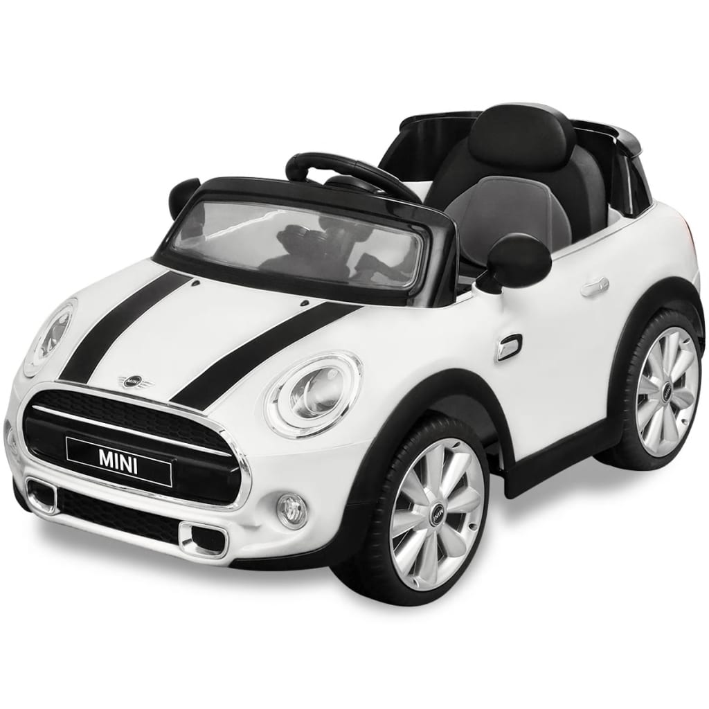 kinderauto elektroauto mini cooper s wei g nstig kaufen. Black Bedroom Furniture Sets. Home Design Ideas
