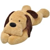 vidaXL Smeđi plišani psić,igračka 160 cm