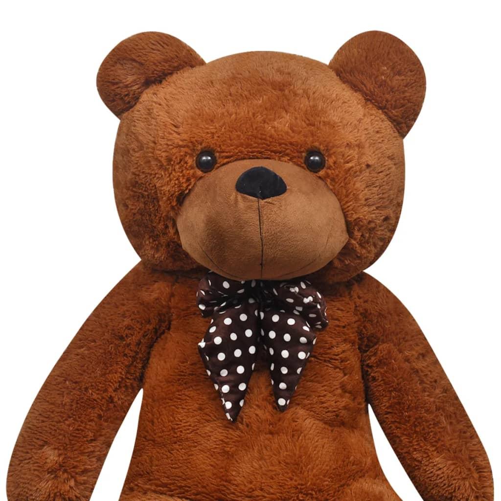 200 Cm Teddy : vidaxl teddy bear cuddly toy plush brown 200 cm ~ Frokenaadalensverden.com Haus und Dekorationen