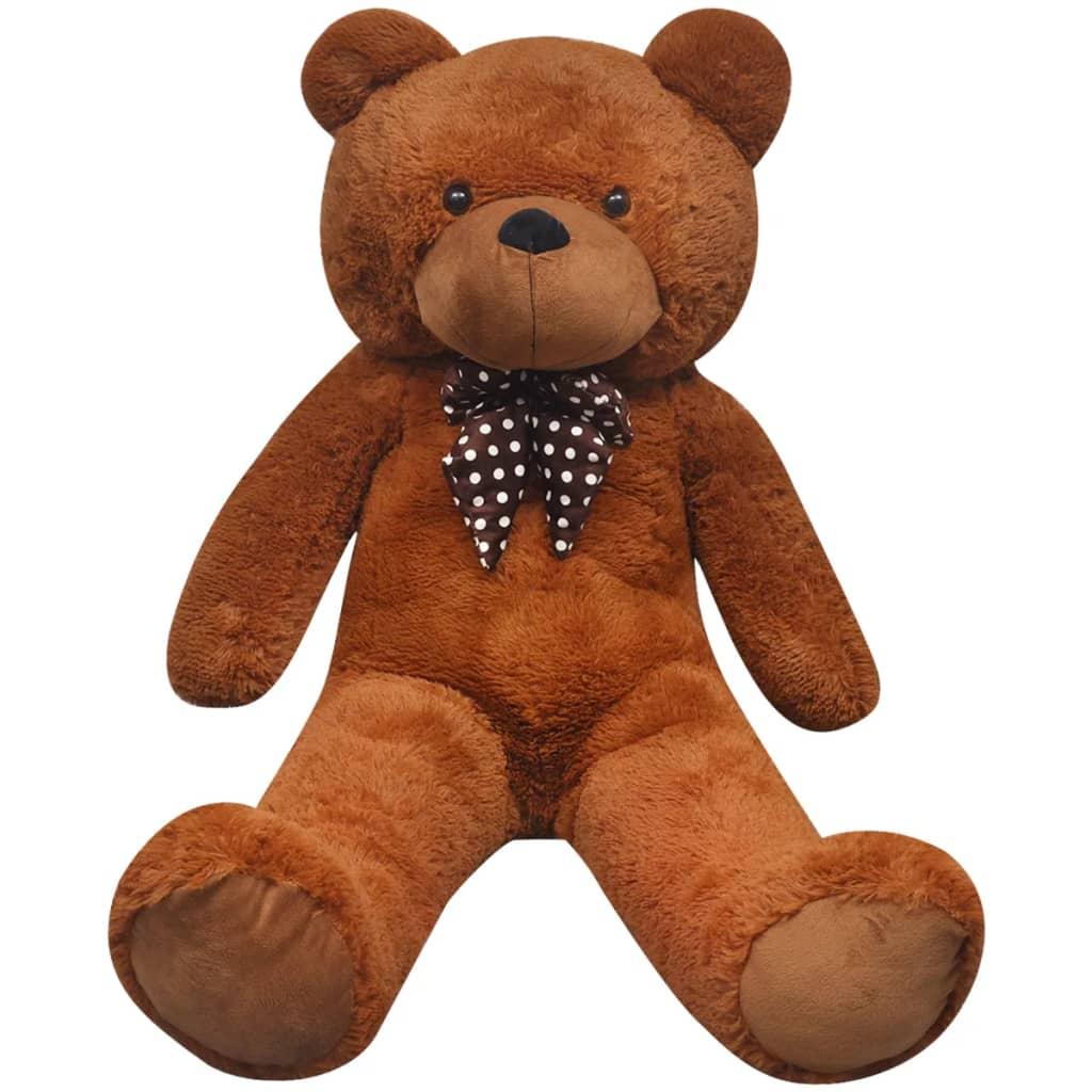 vidaxl teddy bear cuddly toy plush brown 200 cm. Black Bedroom Furniture Sets. Home Design Ideas