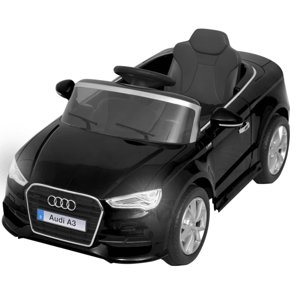 vidaxl kinder aufsitzauto mit fernbedienung audi a3 schwarz g nstig kaufen. Black Bedroom Furniture Sets. Home Design Ideas