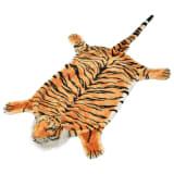 vidaXL Tigermatta plysch 144 cm brun