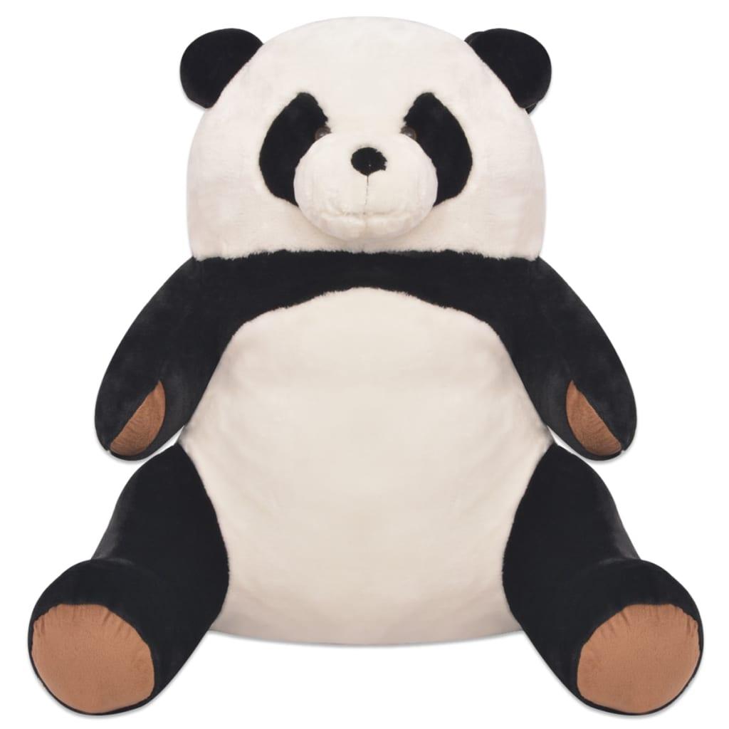 acheter vidaxl panda jouet en peluche xxl 80 cm pas cher. Black Bedroom Furniture Sets. Home Design Ideas