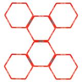 Avento trainingsframe hexagoon 6 stuks