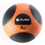 Pure2Improve medicine Ball 4 kg oranje/zwart