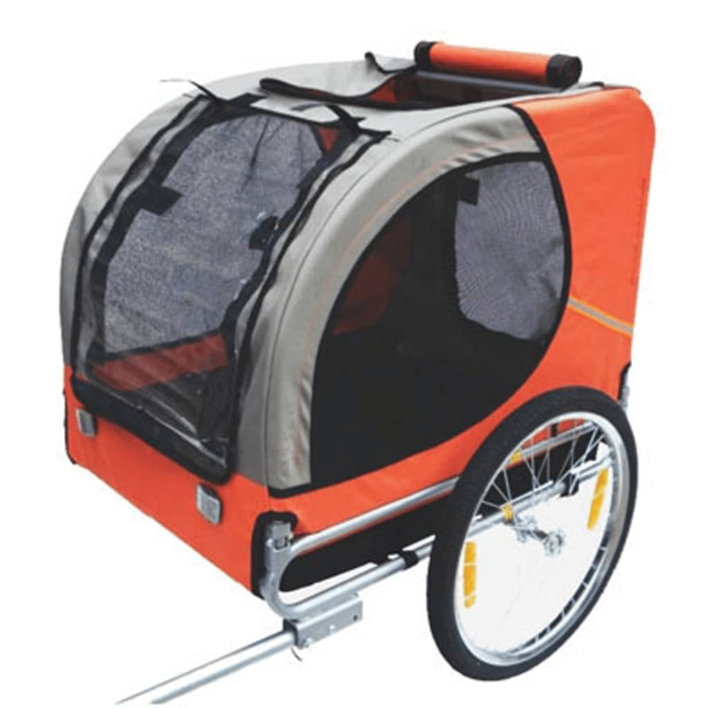 dog bike trailer lassie orange. Black Bedroom Furniture Sets. Home Design Ideas