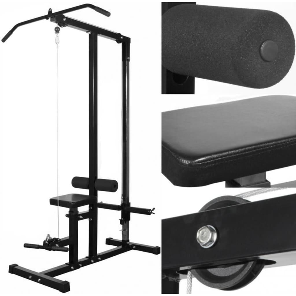 acheter vidaxl appareil de musculation sans poids pas cher. Black Bedroom Furniture Sets. Home Design Ideas