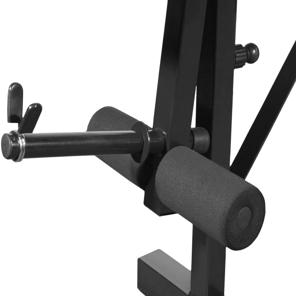 Folding weight bench Bench weights