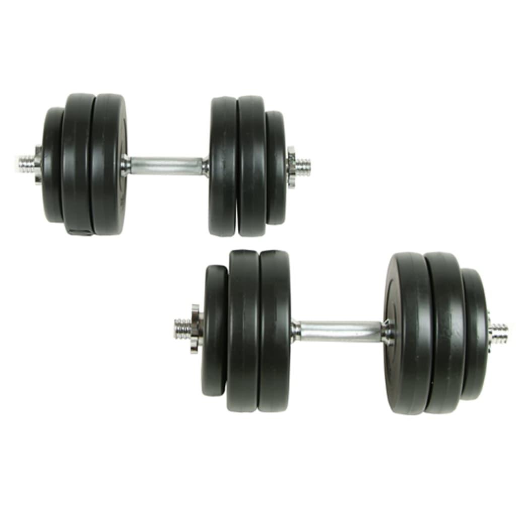 vidaXL Súlyzó szett 30 kg