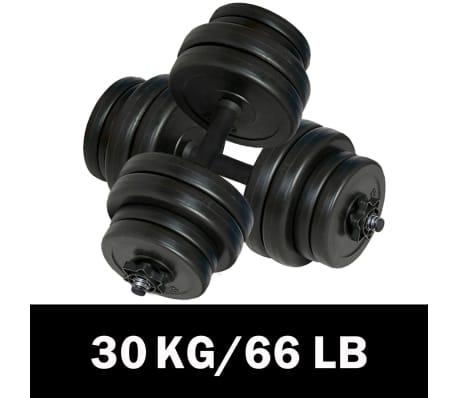 Hantlar 2-pack totalvikt 30 kg