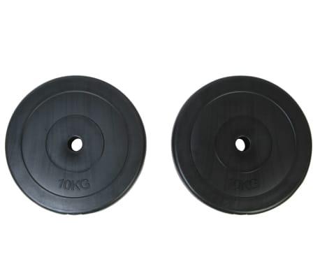 Gewichte 2 Hantelscheiben 10kg