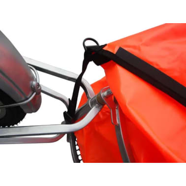 Bicycle Trailer One-wheel with Luggage Bag[4/7]