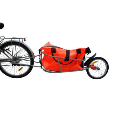 Bicycle Trailer One-wheel with Luggage Bag[1/7]