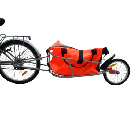 Bicycle Trailer One-wheel with Luggage Bag [1/1]