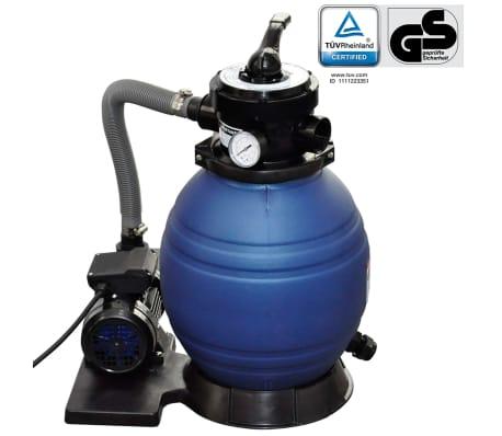 400 wattos homokszűrő rendszer