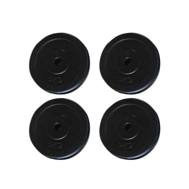Set of 4 x 11 lb Weight Plates[1/2]