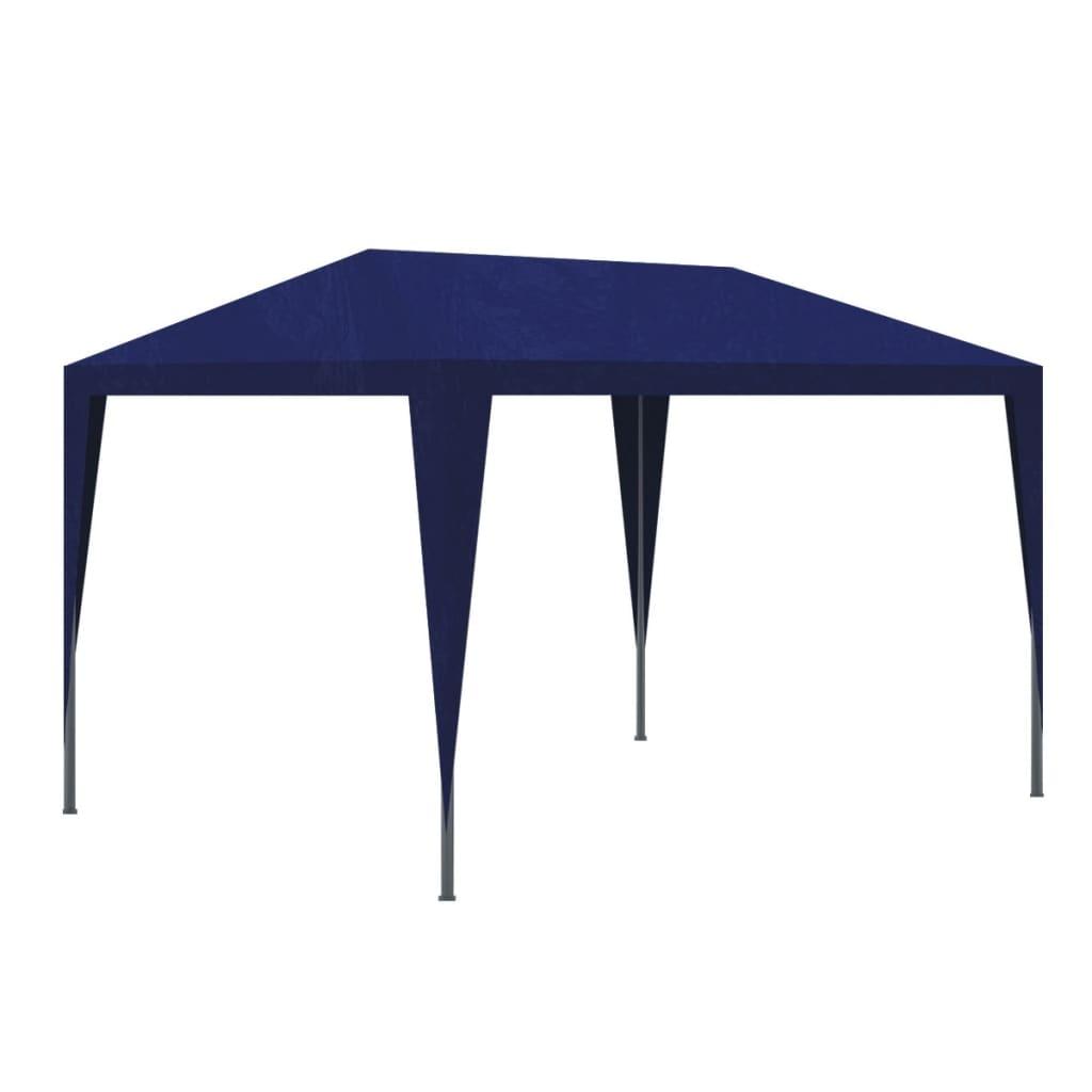 la boutique en ligne vidaxl tonnelle de jardin tente de r ception chapiteau bleu 3x3m. Black Bedroom Furniture Sets. Home Design Ideas